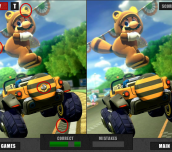 Hra - Mario Car Differences