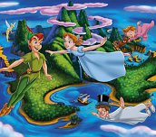 Hra - Disney Peter Pan Slider Puzzle