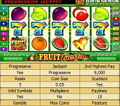 Hra - Fruit Fiesta Slotmachine